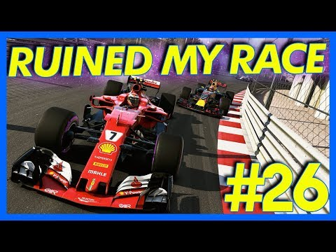 F1 2017 Career Mode : RUINED MY RACE!! (Part 26)