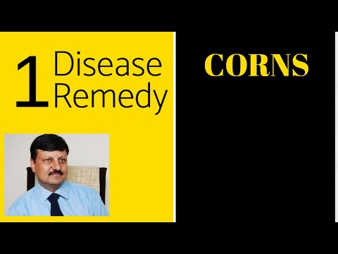 Corns | #24 | One Disease One Remedy | Dr. Ketan Shah - M.D. Homeopath