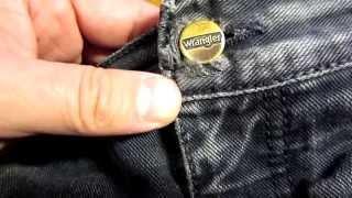 видео Джинсы Wrangler