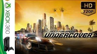 Need for Speed Undercover - XBOX 360 - HD 720P @ 60 fps
