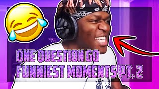 KSI ONE QUESTION GO | FUNNY MOMENTS PT. 2!