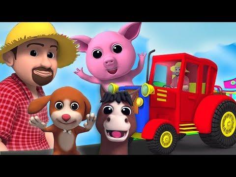 Macdonald Tua Punya Peternakan   3D Lagu   Old Macdonald Had A Farm   Baby Box Indonesia   Lagu Anak