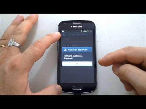Galaxy Trend - Android 4.0.4 - Ice Cream Sandwich - Primeira Avaliação