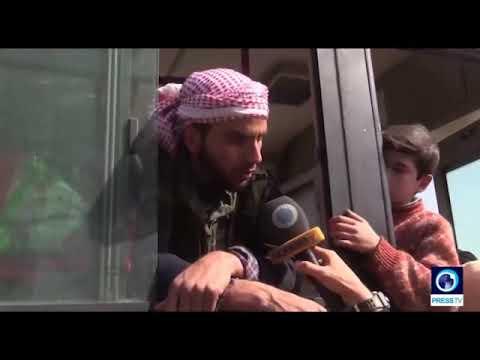 FSA-Syrien: Militanter aus Ost-Ghouta - Saudis haben uns mit ihren Dollars zerstört