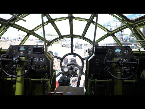 "Walkthrough Tour Inside B-29 Superfortress ""DOC"" 2017"