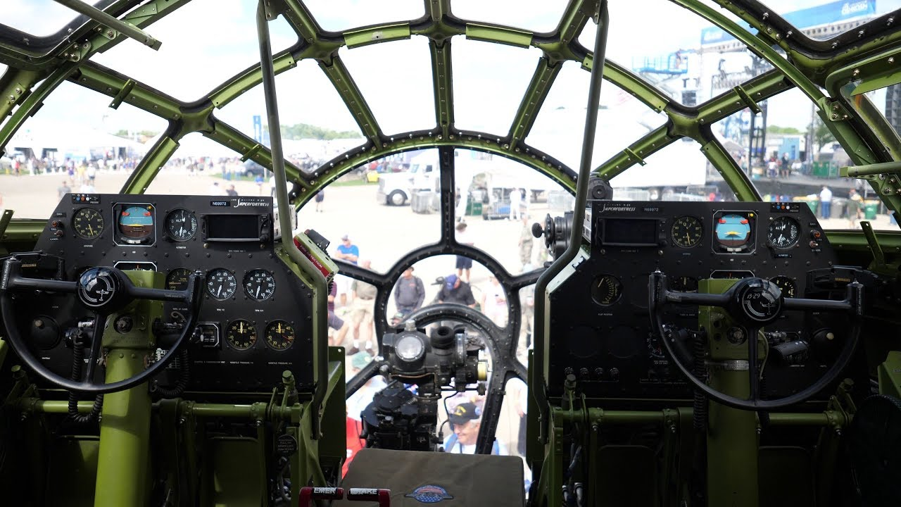 B 29 Inside Walkthrough Tour Insid...