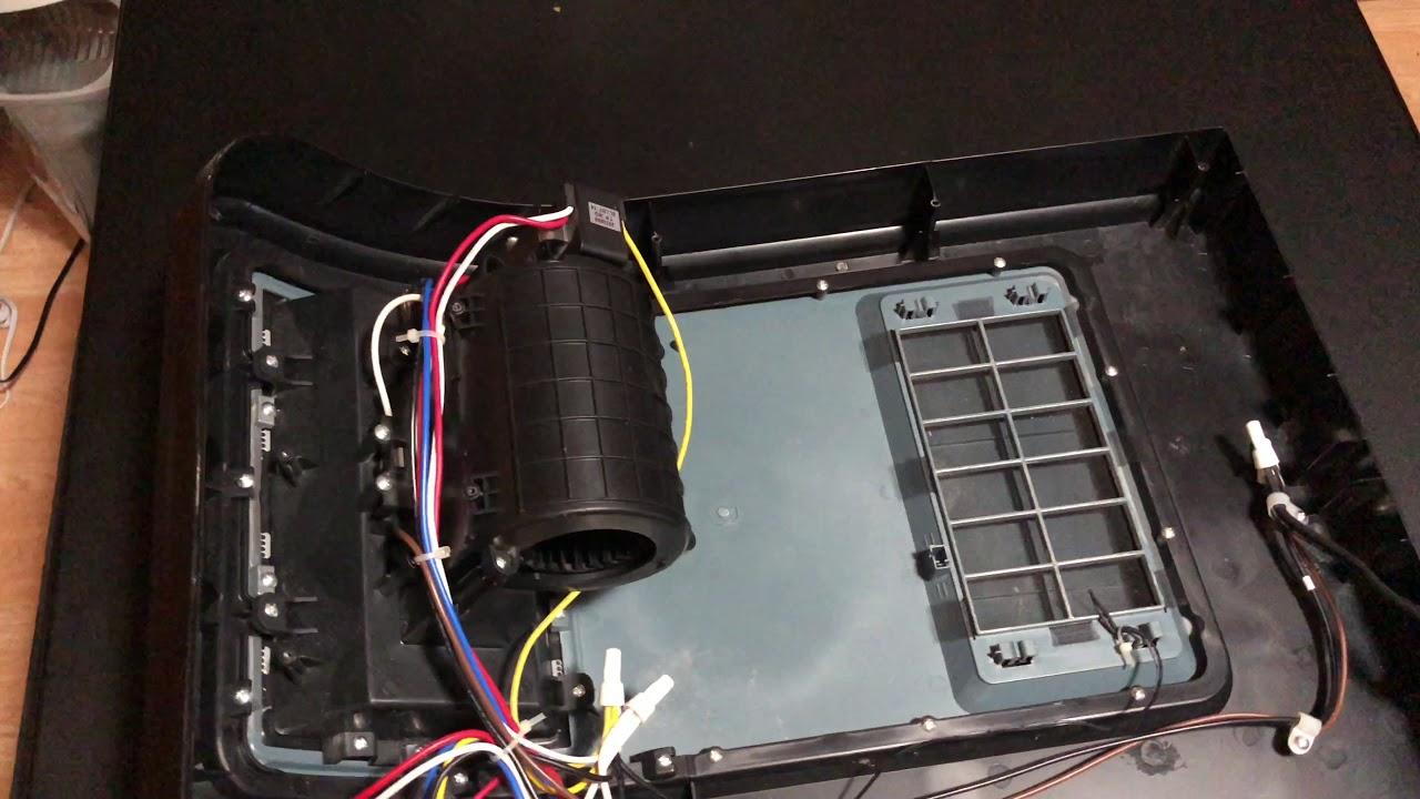 Lasko Cc24849 Ceramic Cyclonic Heater Teardown Youtube