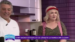 Chef Hadad gateste cu ce gaseste la familia din Clejani