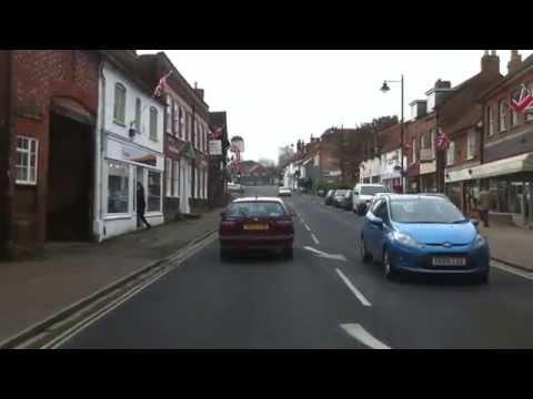 London streets (166.) - Burn Oak Broadway (HA8) - Aylesbury - Princes Risborough (HA27) part.2
