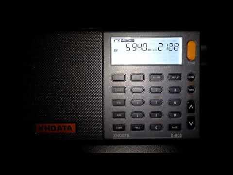 Radio Algérienne via France to West Africa on 5940 KHz