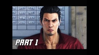 YAKUZA 6 THE SONG OF LIFE Walkthrough Part 1 - Prologue (PS4 Pro 4K Let's Play Commentary)