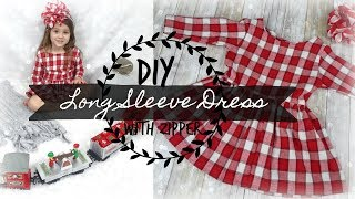 Download DIY  Long Sleeved Dress with Zipper Mp3 and Videos