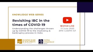 [Live Webinar] Revisiting IBC in the times of COVID 19