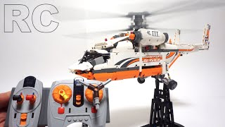 LEGO Technic 42052 - Full RC motorized Heavy Lift Helicopter by 뿡대디