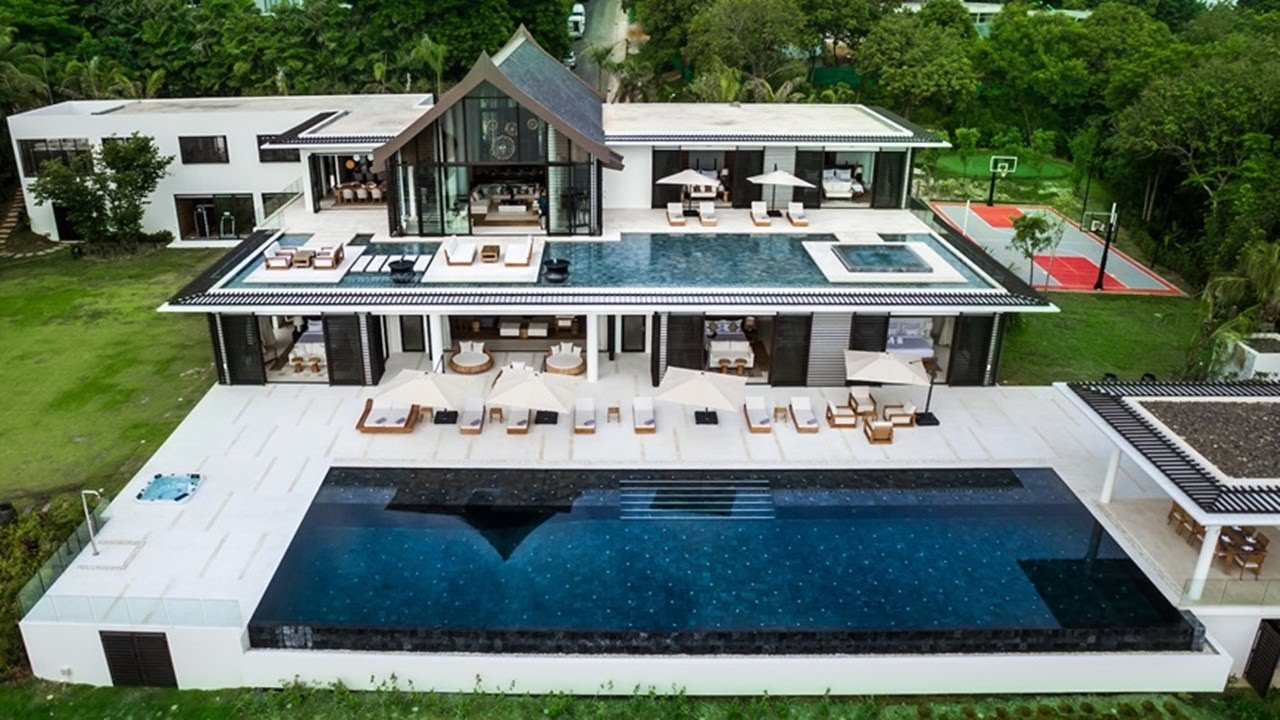 Phuket Property code 390 Ultra Luxury 7 bedrooms Ocean front pool ...