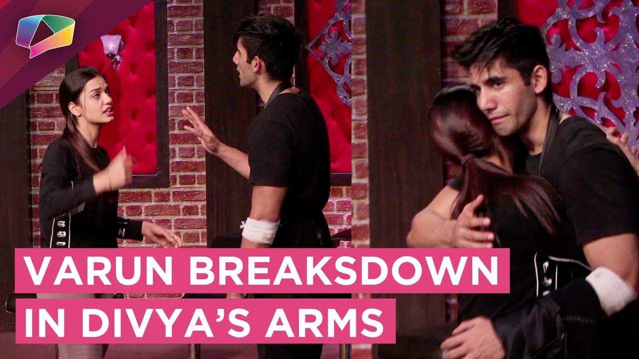 Download Varun Sood Breaksdown In Divya Agarwal's Arms   MTV Ace Of Space