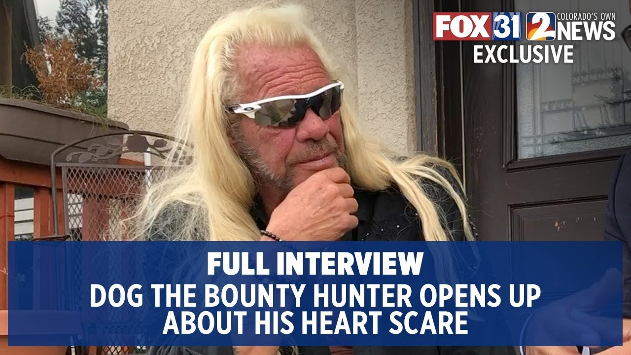 'I had a broken heart': Dog the Bounty Hunter opens up after health scare