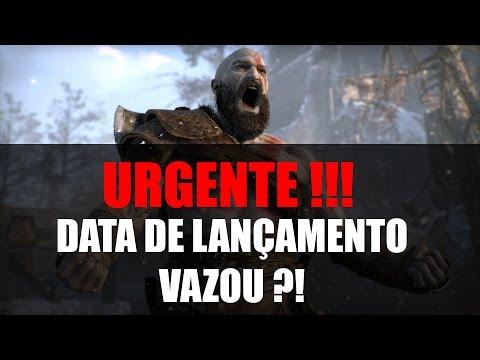URGENTE!! VAZOU A DATA DE LANÇAMENTO DO NOVO GOD OF WAR?!