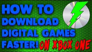 How To Install Digital Games Extremely Faster On Xbox One! (WINDOWS 10 UPDATE)