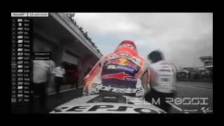 Pertarungan Sengit Rossi Vs Marquez Vs Dovizioso Vs Crutchlow Motogp German 2016