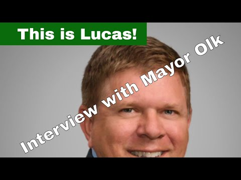 My Podcast Interview with Jim Olk, Mayor of Lucas