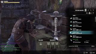 Alchemist Writ The Elder Scrolls Online - Essence of Stamina