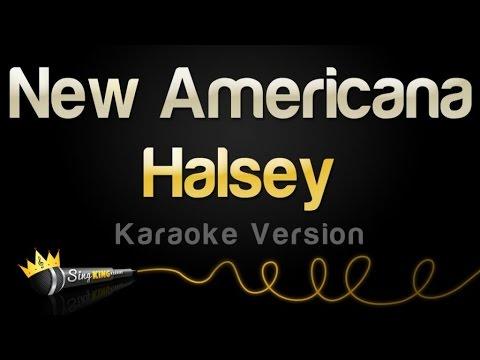 Halsey - New Americana (Karaoke Version)