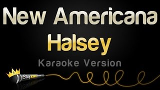 Halsey - New Americana (Karaoke Version)