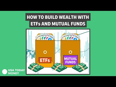 Mutual funds, index funds and ETFs: How to use these to build wealth