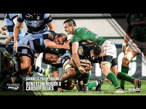 Guinness PRO14 Round 2 Highlights: Benetton Rugby V Cardiff Blues