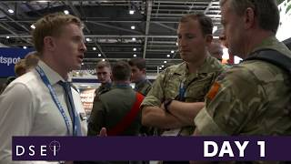 DSEI 2017 - Day 1 - stand
