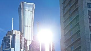 Очень красиво! Современная архитектура Пекина. Финансовый центр и Galaxy SOHO