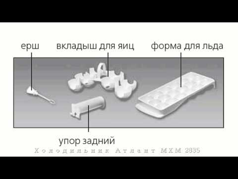 видео: Холодильник АТЛАНТ МХМ 2835