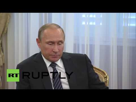 Slovenia: Putin notes the importance of boosting Russia-Slovenia trade