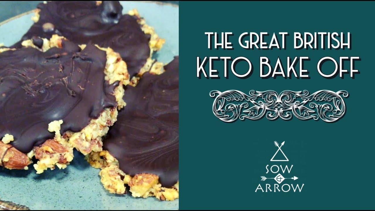 The Great British Keto Bake Off: Fabulous Florentines