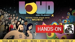LOUD ON PLANET X | Blast aliens with CHVRCHES