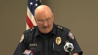Full video: Chief Rich St. John press conference on police chase