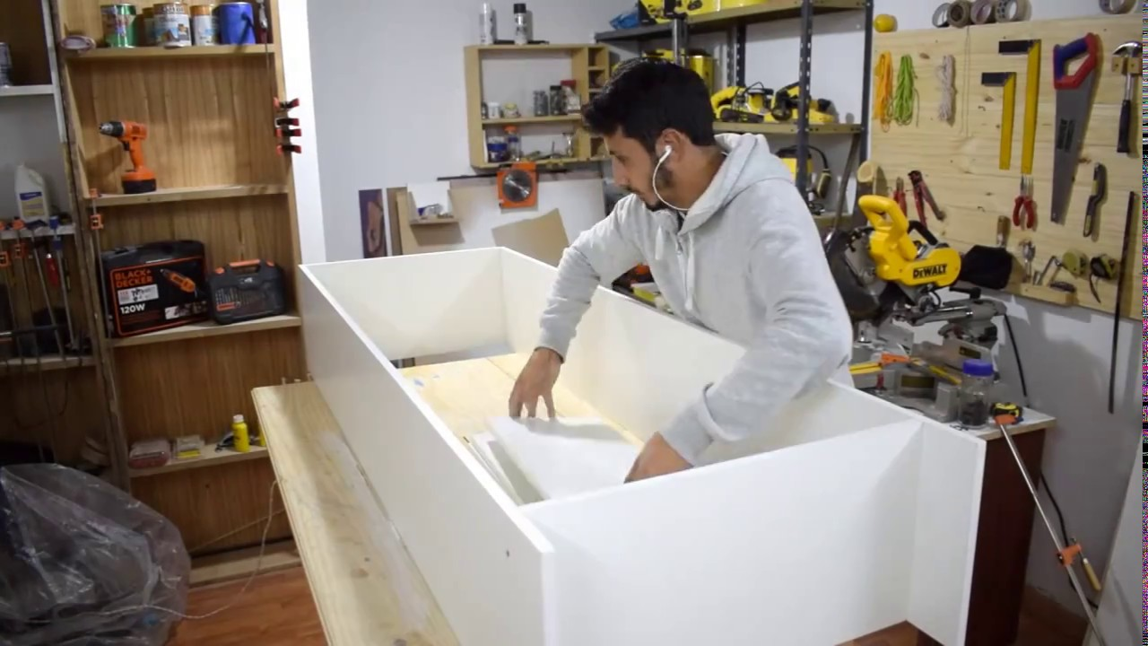 Como hacer mueble para cocina kitchen cabinet youtube for Como armar mi cocina
