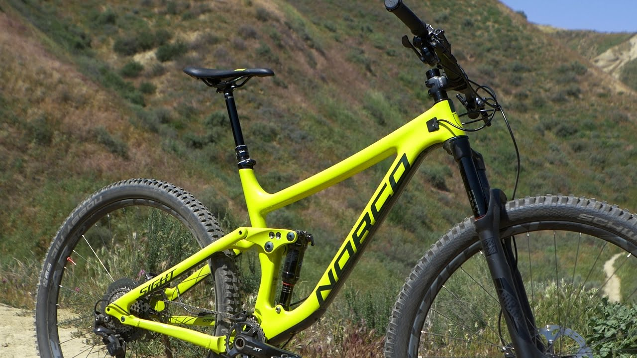 First Ride Norco Sight C 9 2 Mountain Bike Action Magazine Youtube