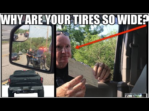 Cop Says My Whole Truck Is ILLEGAL! Modified F150 Pulled Over In Record Time..