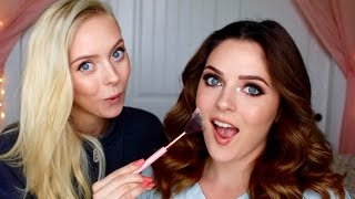 Classic Brown Smokey Eye Feat. My Sister! | Cosmobyhaley