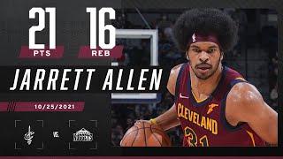 Jarrett Allen DON'T MISS! 💦 Splashes 21 PTS & 16 REB on 91% shooting‼️