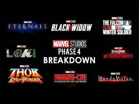 None - Marvel's Phase 4 was Introduced Over the Weekend