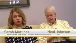 Neal Johnson and Sarah Martinez of Special Olympics NY on #SCENETV