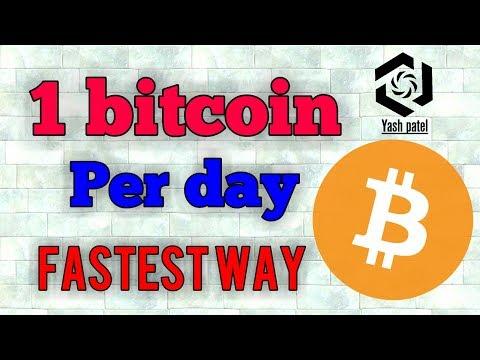 Earn 1 Bitcoin Per Day!!!