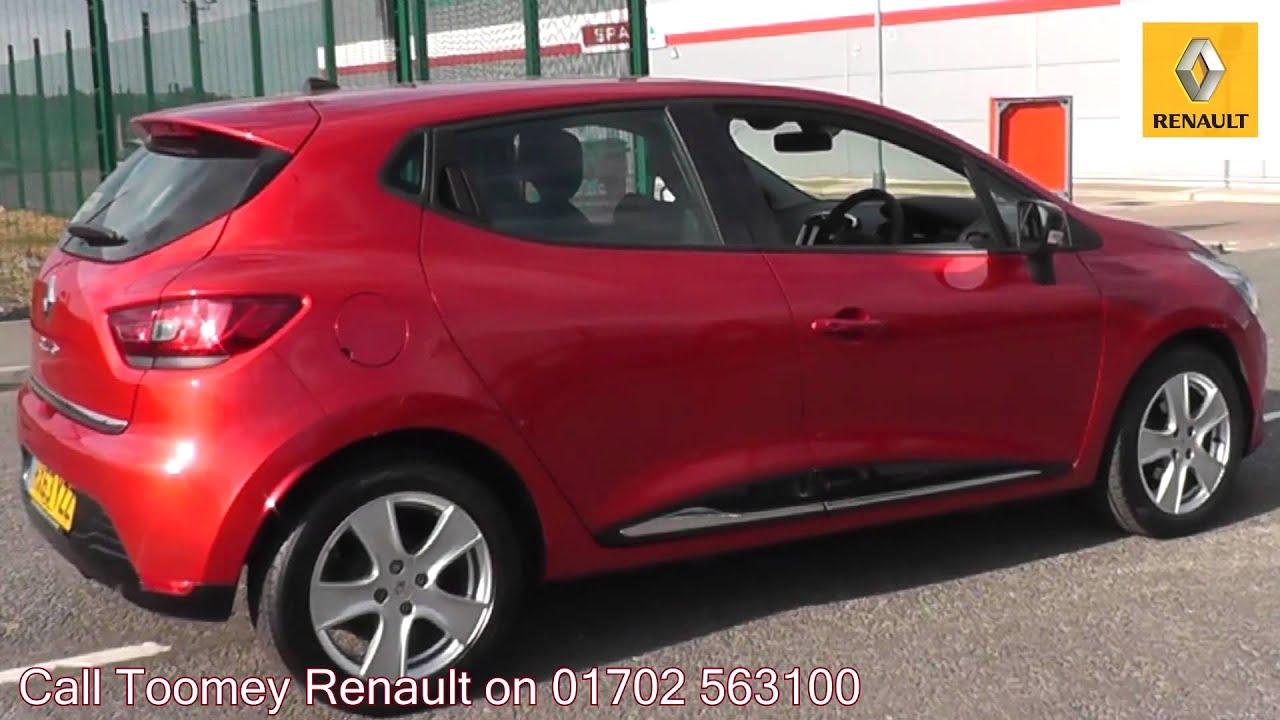 2013 Renault Clio Dynamique MediaNav 1.2l Flame Red ...