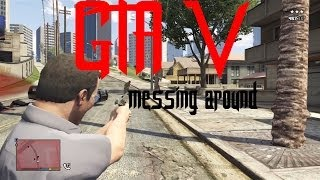 GTA V -- messing around, 1080i video quality test