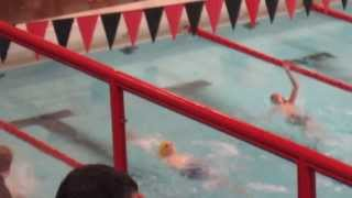 Swimming at B Districts Event 26 11-12 Boys 50 Yard Backstroke 41.73 DQ False Start