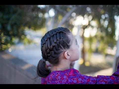 Gym Braid Combo Cute Girls Hairstyles Youtube