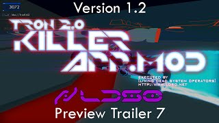 TRON 2.0 - KILLER APP Mod v1.2 Preview Trailer 7 (Light Cycle Rider Test) (1080p HD)